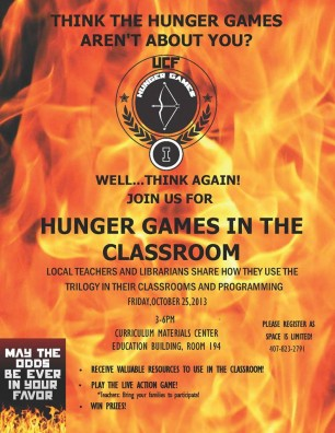 UCF Event: How to Use 'The Hunger Games' in the Classroom
