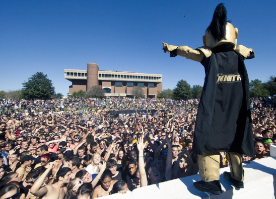 UCF's 'Golden Homecoming' Starts Saturday