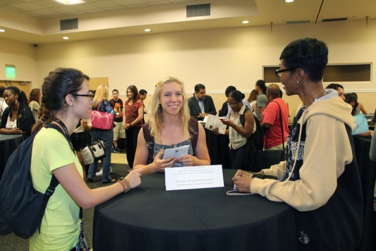 Multicultural Transfer Students Network at Reception