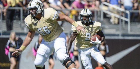 Football: UCF 62, UConn 17