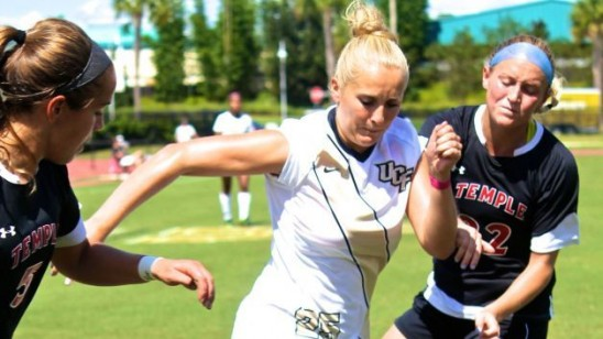 Soccer: UCF Shreds Temple Defense