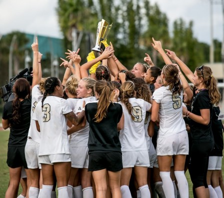 UCF Women's Soccer Claims First AAC Championship