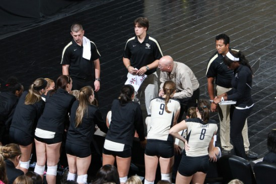 Volleyball: Win No. 100 for Coach Dagenais