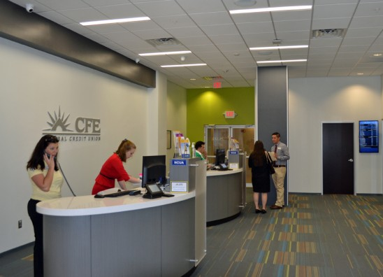 New CFE Branch Opens Inside the Arena