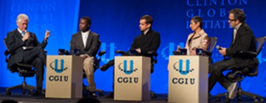 Apply to be part of the 2014 Clinton Global Initiative University
