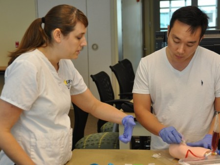Medical, Nursing Students Learn, Grow Together