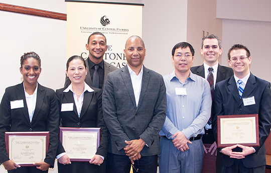 Team A-Z Solutions Wins Capstone Great Case Competition