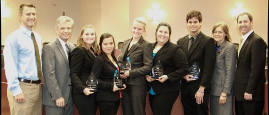 Team Wolfpack Wins Cornerstone Competition