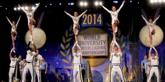 UCF Cheerleaders Finish Second At National Championships