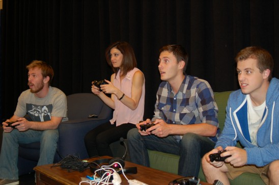 Video Gamers Face Real-Life Challenges in Theatre UCF's 'Leveling Up'