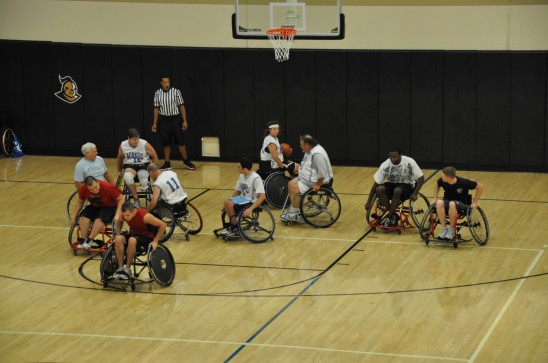 Wounded Warriors at UCF Basketball Camp to Host Orlando Magic's Wheelchair Team