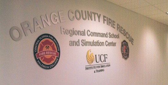 Fire Rescue Center Uses Simulation to Test Crisis Decision Makers