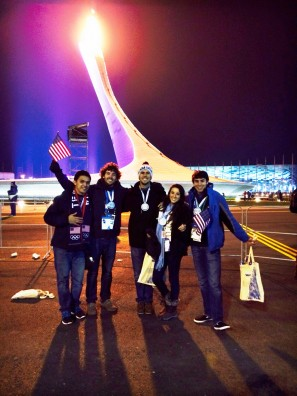 Rosen Students Part of Winter Olympics Opening Ceremony