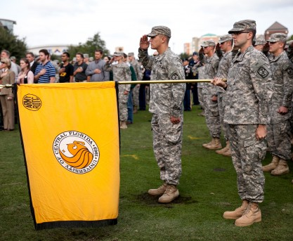 UCF Army ROTC Honored with National Award