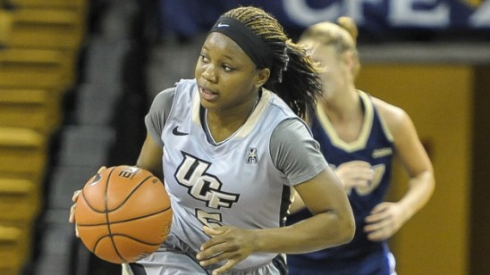 Zykira Lewis: UCF's Leading Scorer Named All-Freshman