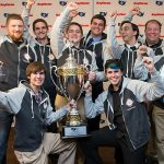 Cyber Defense Team Takes First in Nation, Victory Photo Displayed in Times Square