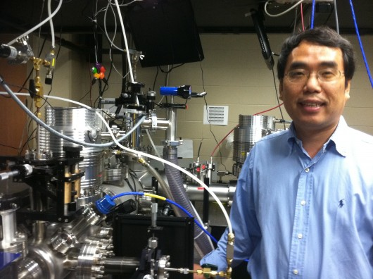UCF Researcher Aims to Shatter Own World Laser Record