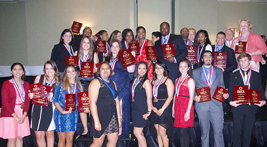 UCF Collegiate DECA Students Excel at State Competition