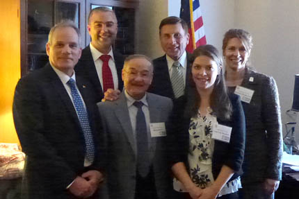 Researchers Meet with Legislators to Encourage Support for Photonics