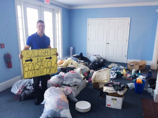 UCF Students' Drive Benefits Panhandle Flood Victims