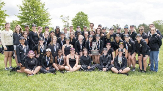 Knights Finish Second at Inaugural Conference Rowing Championships