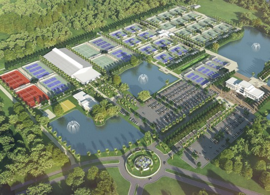 UCF Partners to Create 'New Home for American Tennis' at Lake Nona