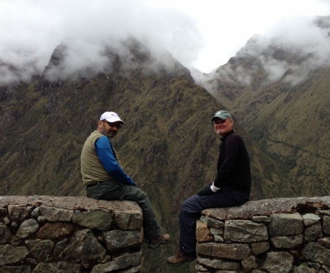 Faculty Physicians Climb Peru's Machu Picchu
