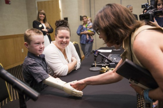 Fulfilling a 6-Year-Old's Dream: UCF Students Design and Build Him an Arm