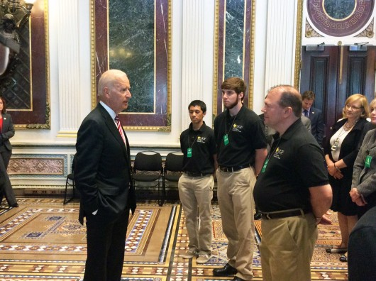 White House Hosts UCF Cyber Defense Team