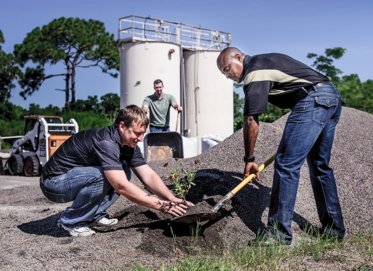 Patented Soil Media on Green Roofs Throughout Florida