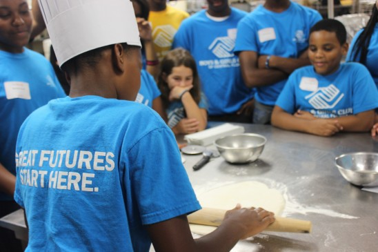 Local Boys & Girls Club Gets Taste of Hospitality Industry