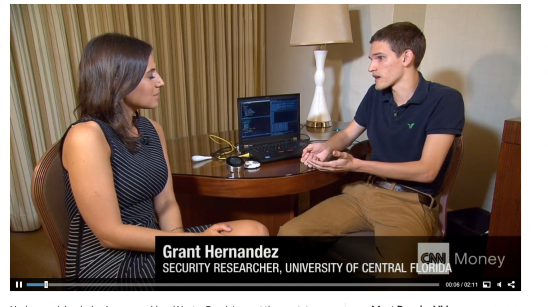 UCF Cyber Defense Turns Smart Thermostat Into Potential Spy
