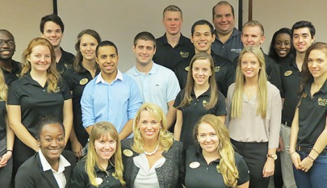 "The UCF College of Business Student Ambassadors Convene to ""Bend the Culture"""
