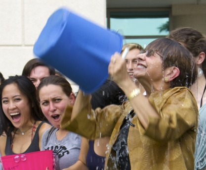 "Med School Does ALS Ice Bucket Challenge ""WAVE"""