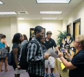 Students Connect with Advisors at Open House