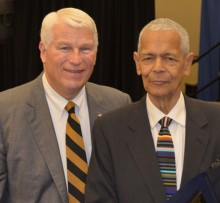 1. John C. Hitt, Julian Bond, Diversity Week '14
