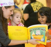 Read for the Record Encourages Love of Reading for Pre-K Students