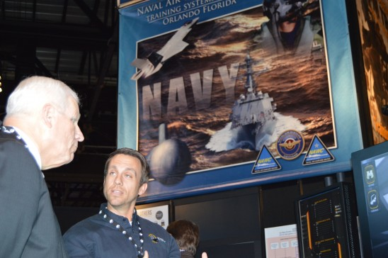 UCF, Navy Sign Agreement to Benefit Modeling and Simulation Industry, Students