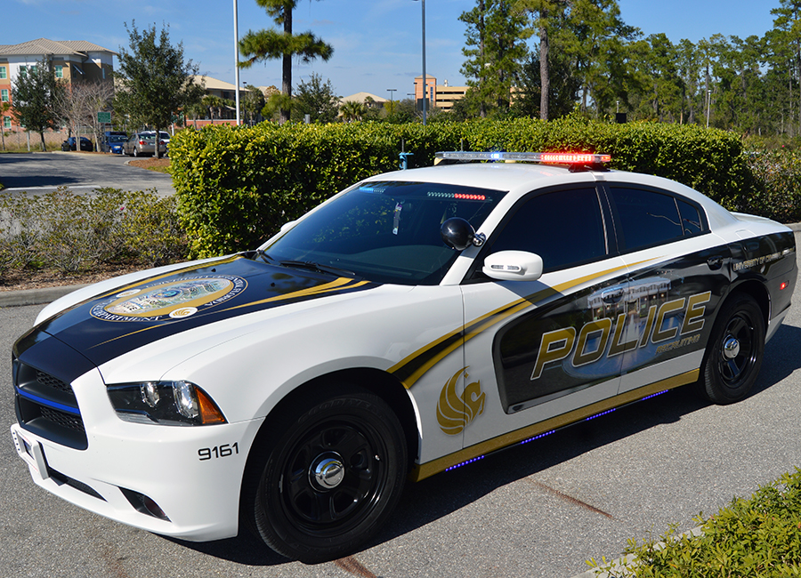 Ucf Police Unveil New Recruiting Car Start Hiring