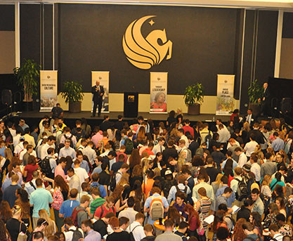 New York Times Bestselling Author Visits UCF for Welcome to the Majors