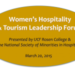 Female Execs Set to Inspire at First Women's Hospitality & Tourism Leadership Forum