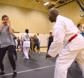 Students Go Clubbing to Learn Self-Defense