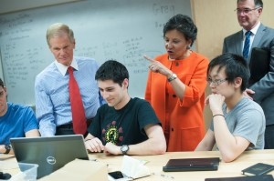 U.S. Sen. Bill Nelson and Secretary of Commerce Penny Pritzker announce funding two initiatives that will advance innovation and capacity-building activities in regions across the country.