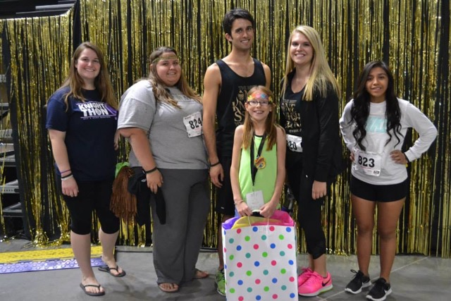 Hospitality Students Participate in Nation's 7th Largest Dance