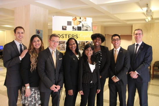 Undergraduates Present Research at State Capitol