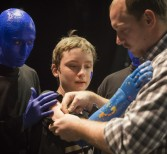 3-D Arm Team, UCF and Blue Man Make Announcement; Provide Limbs for Children