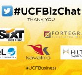 #UCFBusiness Hosts Semester's Final #UCFBizChat