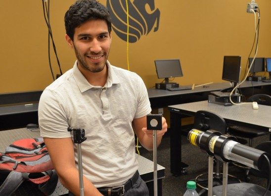 CREOL Graduate, First-of-his-kind at UCF