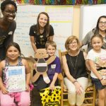 CEDHP Elementary Education Majors Help Area Students Develop Writing Skills