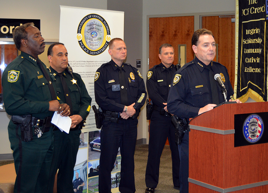 Ucfpd ocso announce partnership to enhance off campus - Orange county sheriffs office florida ...